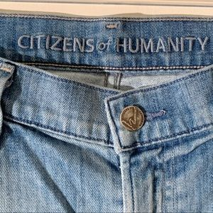 Citizens for Humanity Cropped Cuffed Jeans